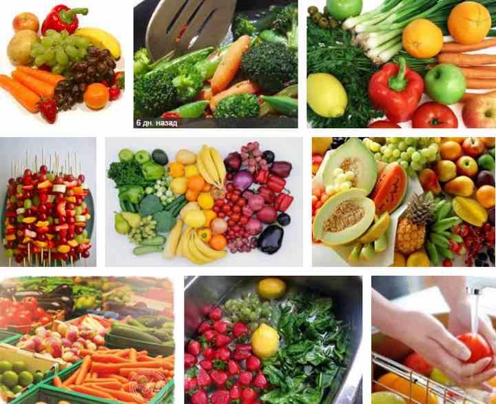 Как правильно употреблять овощи и фрукты