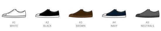 мужской стиль цвет обуви
