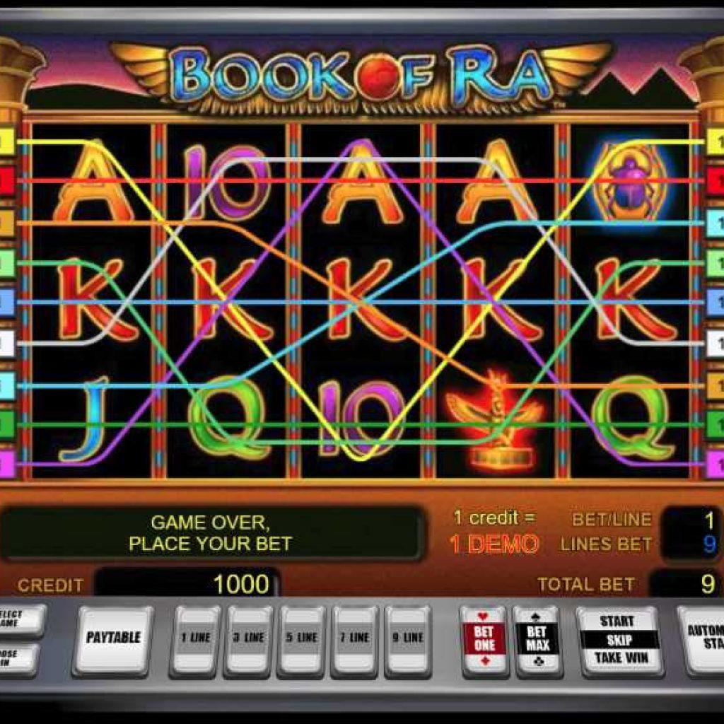 Игровой автомат Book Of Ra от казино Вулкан